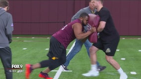 Gophers show off skills for NFL scouts for Pro Day