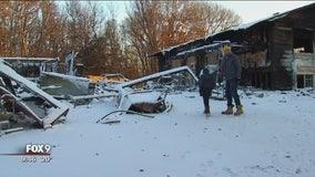 Fire leaves Oak Grove family homeless before holidays