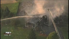 Orono house fire raises hydrant concerns
