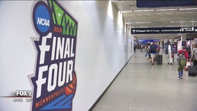 Final Four fever hits MSP Airport