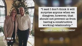 Gov. Dayton and Sen. Fischbach meet for lunch