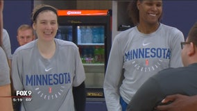 Lindsay Whalen reports for double duty as coach and player