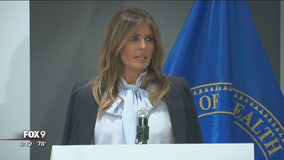 First Lady Melania Trump speaks out on cyberbullying
