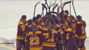 Gopher women's hockey wins WCHA Championship over Wisconsin, 3-1