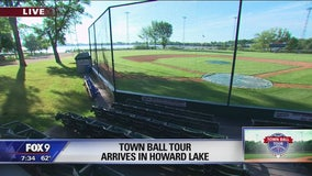 FOX 9 Town Ball Tour heads west to Howard Lake
