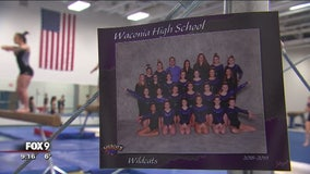 Waconia gymnastics team finds inspiration after injury