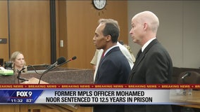 Ex-Minneapolis police officer Mohamed Noor sentenced to 12.5 years in prison