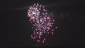 Fireworks from Eden Prairie, Minnesota