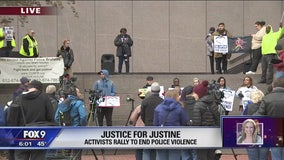 Justice for Justine rally held after the Noor trial verdict