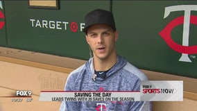 Sports Now: Twins Closer Taylor Rogers talks about the Twins' culture and his role in the bullpen