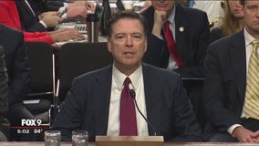 Former FBI Director James Comey testifies before Senate