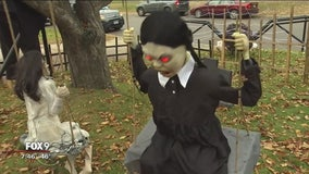 Todd on the Town: Richfield's spookiest front yard setup