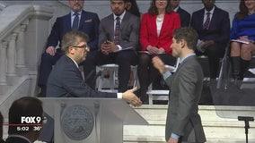 Inauguration of Minneapolis Mayor Jacob Frey