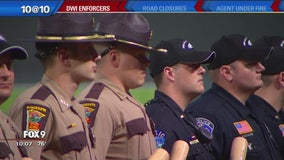 'DWI Enforcer All-Stars' honored at Twins game