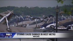 Storms cause damage in west metro