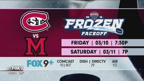 St. Cloud State men's hockey No. 1 in NCAA