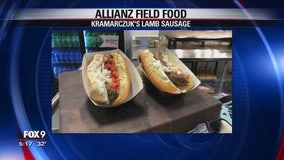 Preview of the stadium food at Allianz Field