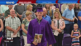 Family: military son's name left out of high school graduation