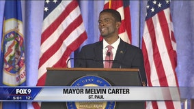 Melvin Carter sworn in as St. Paul Mayor