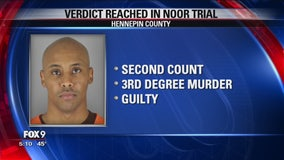Mohamed Noor found guilty of 3rd-degree murder, 2nd-degree manslaughter