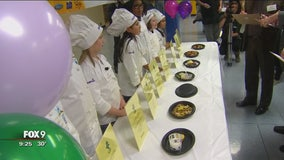 Columbia Heights elementary students battle in a cook-off