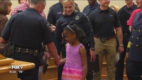 Heroes honored for saving drowing girl in Burnsville