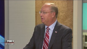 District one congressional candidate Jim Hagedorn sits down with Fox 9
