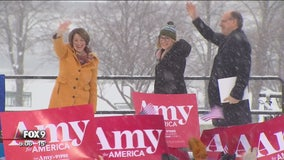Senator Amy Klobuchar launches presidential bid