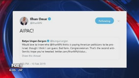 "Rep. Ilhan Omar apologizes for ""anti-semitic"" tweet"