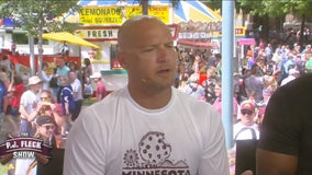 PJ Fleck Show at the Minnesota State Fair
