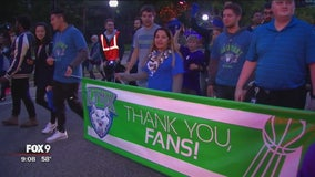 Lynx honored in championship celebration and parade