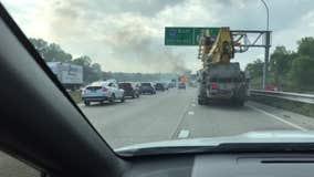 169 Truck fire