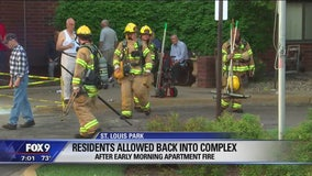 Fire at St. Louis Park senior living center