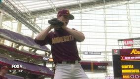 Gophers debut indoors at U.S. Bank Stadium