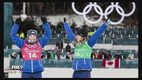 Afton glowing with hometown pride for Jessie Diggins