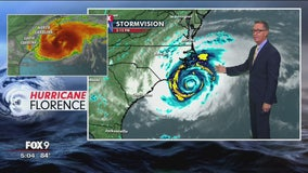`Threat becomes reality': Florence begins days of rain, wind