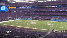 Minneapolis' U.S. Bank Stadium nearly ready for Super Bowl 52