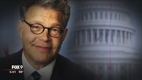 Sen. Franken returns to Capitol amid allegations