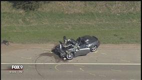 Waconia crash spills nails, shuts down Highway 5