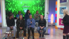 Lynx WNBA Champions live in studio Part 1 of 3
