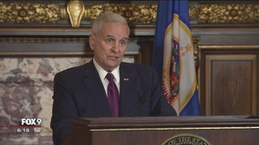 Governor Dayton announces action on budget bills