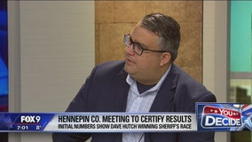 Election results for Hennepin County Sheriff to be certified Tuesday