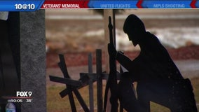 Cross removed from Belle Plaine memorial
