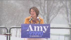 Sen. Amy Klobuchar launches presidential bid