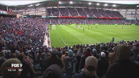Minnesota United fans celebrate historic day at Allianz Field