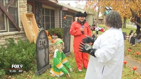 Todd on the Town: Richfield couple gives Halloween tips at spooky house