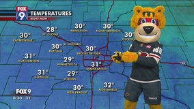 Nordy gives Tuesday's forecast