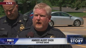 2 children found safe, father arrested after AMBER Alert in Cottage Grove, Minn.