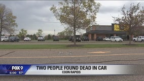 Authorities identify two found dead in Coon Rapids parking lot