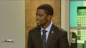 St. Paul Mayor Melvin Carter stops by Fox 9 studio